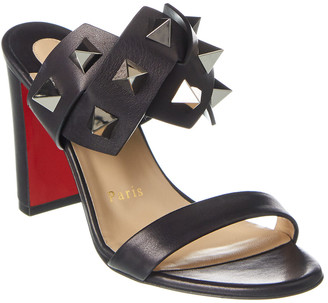 Christian Louboutin Tina In The Desert 85 Leather Sandal