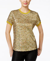 GUESS Amberley Sequin-Front T-Shirt