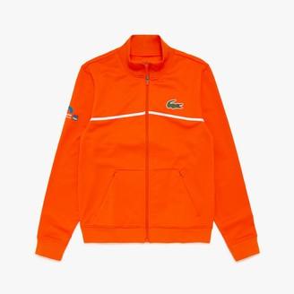 Lacoste Men's SPORT Miami Open Resistant Pique Zip Jacket