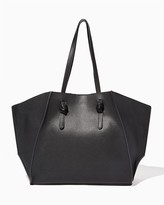 Charming charlie Octagon Knotted Tote