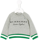 Burberry sweatshirt with ribbed trimming