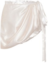 Y/Project Satin wrap skirt