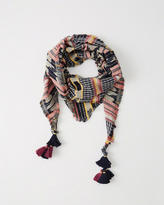 Abercrombie & Fitch Triangle Multicolored Scarf