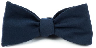 The Tie BarThe Tie Bar Navy Solid Wool Bow Tie
