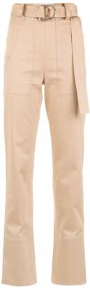 Gloria Coelho High Waisted Trousers