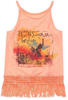 Arizona Fringe Tank Top - Girls 7-16 and Plus