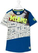Vingino 'Miami' print T-shirt - kids - Cotton/Polyester/Viscose - 14 yrs