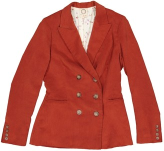 N. Inès De La Fressange Paris Ines De La Fressange Paris \N Orange Cotton Jackets
