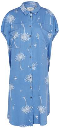 One Teaspoon Oneteaspoon Malibu Daria Printed Twill Shirt Dress