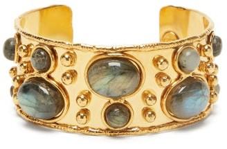 Sylvia Toledano - Labradorite-cabochon Cuff - Gold