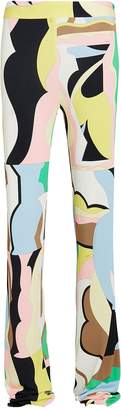 Emilio Pucci Vallauris Print Flared Trousers