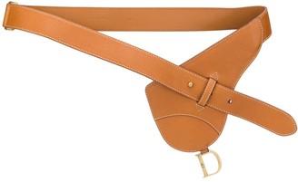 Christian Dior 2000s pre-owned Saddle belt bag