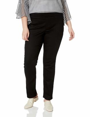 NYDJ Women's Plus Size Pull ON Straight Jean