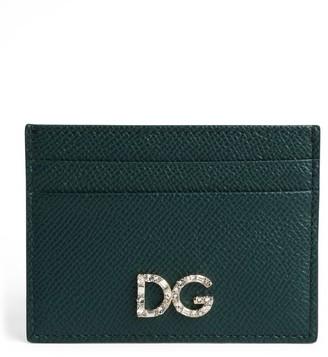 Dolce & Gabbana Leather Logo Card Holder