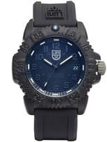 Luminox 'Sea - Navy Seal Colormark' Silicone Strap Watch, 38Mm