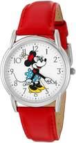 Disney Women's 'Minnie Mouse' Quartz Metal Automatic Watch, Color: (Model: W002768)