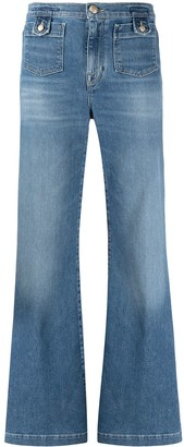 Jacob Cohen Mid-Rise Flared Jeans