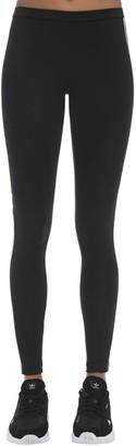 adidas Logo Stretch Cotton Leggings