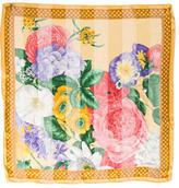 Valentino Floral Embellished Silk scarf