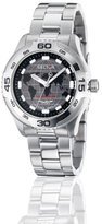 Sector Men's Watch R3253198025 In Collection Adventure, 3 H and S with Solar Black Dial and Stainless Steel Bracelet