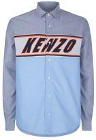 Kenzo Knit Logo Panel Shirt