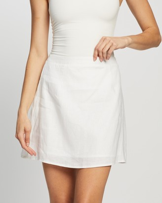 Dazie French Quarter Linen Skirt