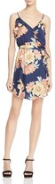 Joie Foxglove Print Silk Dress