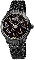 Burgi Women's Polished Alloy Watch