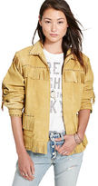Denim & Supply Ralph Lauren Fringed Leather Jacket