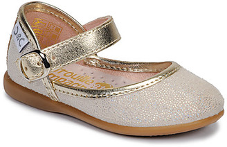 Citrouille et Compagnie JARITO girls's Shoes (Pumps / Ballerinas) in Gold