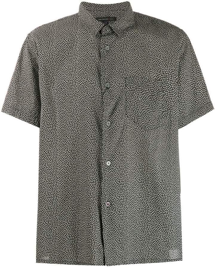 John Varvatos micro print shirt