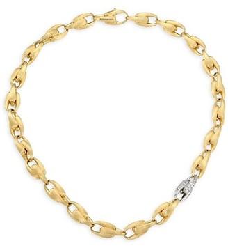 Marco Bicego Legami Diamond & 18K Yellow Gold Medium Link Chain Necklace