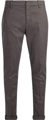 Dondup Gaubert Mud Trousers With Black Micro Pattern