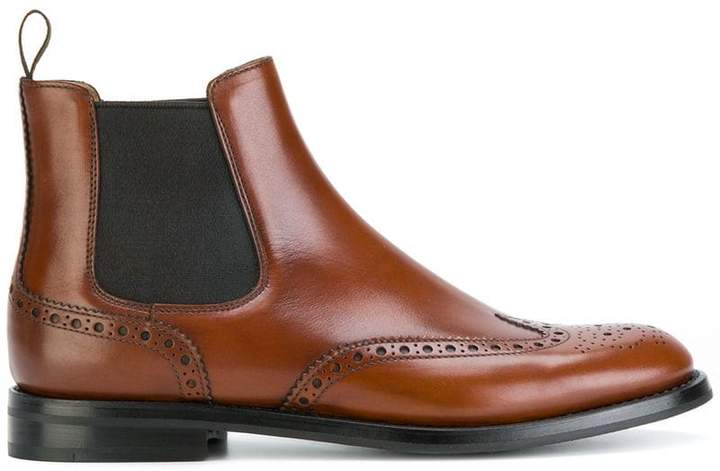 Church's brogue Chelsea boots