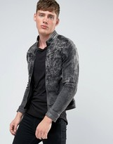 G-star Arc Zip Distressed 3d Slim Jacket