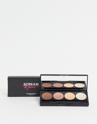 Fake Bake Fakebake Scream & Pout natural eyeshadow pallette