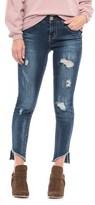 Seven7 Sharkbite Ankle Skinny Jeans (For Women)