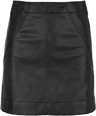 Philosophy di Lorenzo Serafini Faux Leather Skirt