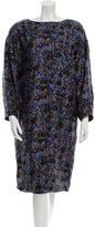 Piazza Sempione Silk Printed Dress w/ Tags