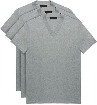 Prada Three-pack jersey T-Shirts