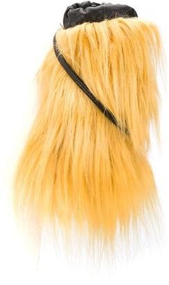 Marni Faux Fur Drawstring Pouch
