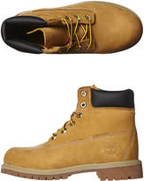 Timberland Boys Leather Boots Premium Full Grain Waterproof