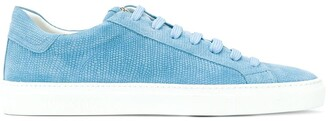 Hide&Jack embossed low-top sneakers