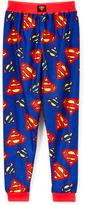 Komar Kids Blue Superman Pajama Pants - Boys