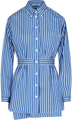 Prada Striped Poplin Shirt