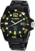 Haurex Italy Men's Caimano Date Dial Plastic Sport Watch N7354UNY