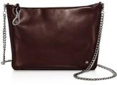 Halston Elsa Convertible Leather Clutch