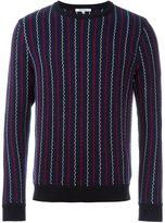 Carven woven striped jumper