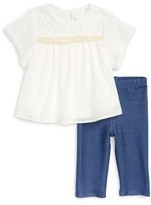 Infant Girl's Pippa & Julie Dress & Leggings Set