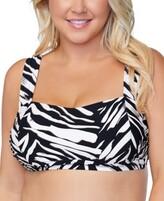 Thumbnail for your product : Raisins Curve Trendy Plus Size Jamaica Meru Printed Bra Bikini Top Women's Swimsuit